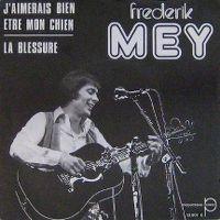 Cover Frederik Mey - J'aimerais bien être mon chien