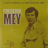Cover Frederik Mey - La boîte à musique