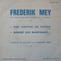 Cover Frederik Mey - Une cruche en pierre