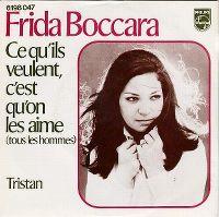 Cover Frida Boccara - Ce qu'ils veulent, c'est qu'on les aime