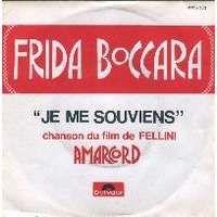 Cover Frida Boccara - Je me souviens