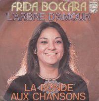 Cover Frida Boccara - L'arbre d'amour
