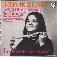 Cover Frida Boccara - Les quatre chemins de l'amour