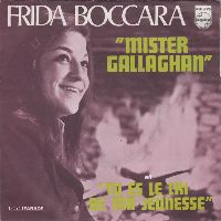 Cover Frida Boccara - Mister Gallaghan