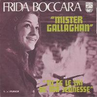 Cover Frida Boccara - Mister Gallaghan