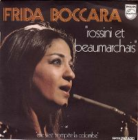 Cover Frida Boccara - Rossini et Beaumarchais