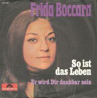 Cover Frida Boccara - So ist das Leben