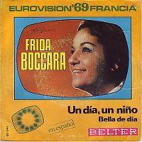 Cover Frida Boccara - Un día, un niño