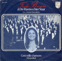 Cover Frida Boccara & De Mastreechter Staar - Cent mille chansons