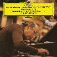 Cover Friedrich Gulda / Wiener Philharmoniker / Claudio Abbado - Mozart: Klavierkonzerte - Piano Concertos Nr. 20 & 21