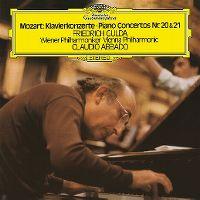 Cover Friedrich Gulda / Wiener Philharmoniker / Claudio Abbado - Piano Concertos Nr. 20 & 21 - Mozart