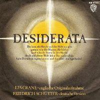 Cover Friedrich Schütter - Desiderata