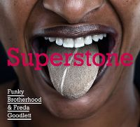 Cover Funky Brotherhood & Freda Goodlett - Superstone