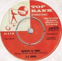 Cover Gary U.S. Bonds - Quarter To Three