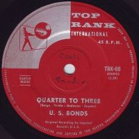 Cover Gary U.S. Bonds - Quarter To Three