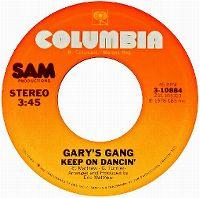 Cover Gary's Gang - Keep On Dancin'