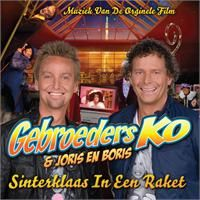 Cover Gebroeders Ko & Joris en Boris - Sinterklaas in een raket