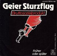 Cover Geier Sturzflug - Bruttosozialprodukt