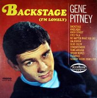 Cover Gene Pitney - Backstage (I'm Lonely)