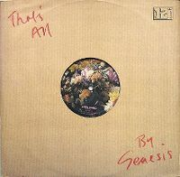 Cover Genesis - That's All