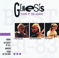 Cover Genesis - Turn It On Again - Best Of '81 - '83