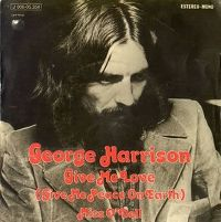 Cover George Harrison - Give Me Love (Give Me Peace On Earth)