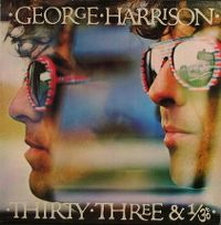 Cover George Harrison - Thirty-Three & 1/3