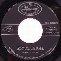 Cover George Jones - Color Of The Blues