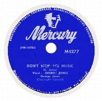 Cover George Jones - Don't Stop The Music