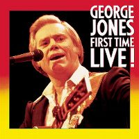 Cover George Jones - First Time Live!