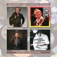 Cover George Jones - Four George Jones Albums On Two Discs
