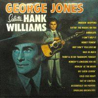 Cover George Jones - George Jones Salutes Hank Williams