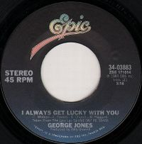 Cover George Jones - I Always Get Lucky With You