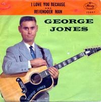 Cover George Jones - I Love You Because