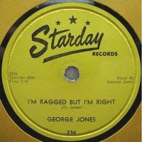 Cover George Jones - I'm Ragged But I'm Right