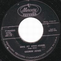 Cover George Jones - Into My Arms Again