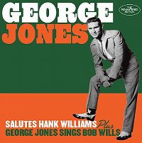 Cover George Jones - Salutes Hank Williams / George Jones Sings Bob Wills
