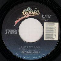 Cover George Jones - She's My Rock