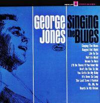 Cover George Jones - Singing The Blues