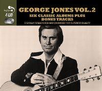 Cover George Jones - Six Classic Albums Plus Bonus Tracks Vol. 2