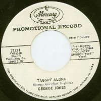 Cover George Jones - Taggin' Along
