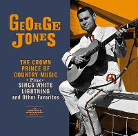 Cover George Jones - The Crown Prince Of Country Music / Sings White Lightning And Other Favorites