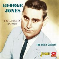 Cover George Jones - The Genius Of A Genius - The Early Sessions