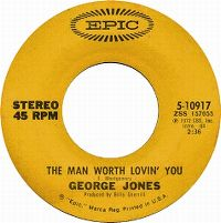 Cover George Jones - The Man Worth Lovin' You
