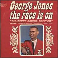 Cover George Jones - The Race Is On