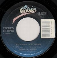 Cover George Jones - The Right Left Hand