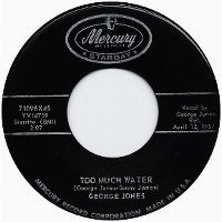 Cover George Jones - Too Much Water