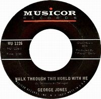 Cover George Jones - Walk Through This World With Me