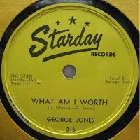 Cover George Jones - What Am I Worth