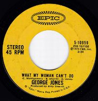 Cover George Jones - What My Woman Can't Do
